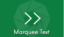 Marquee Text
