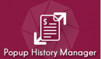 Popup History Manager