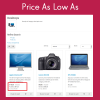 Price As Low As