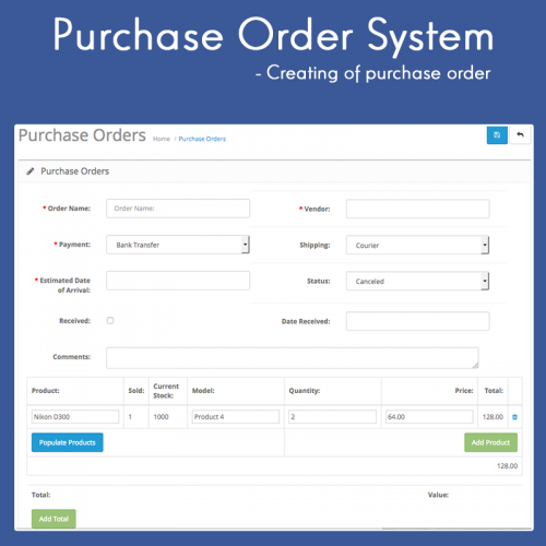 Thesis online ordering system